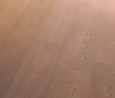OAK Clear wide-plank brushed | extreme white oil by mafi | Wood flooring