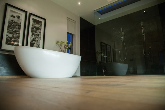 OAK Country brushed | natural and white oil by mafi | Wood flooring