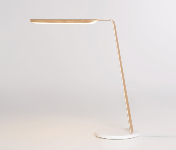 Swan Table by Tunto Design | Reading lights