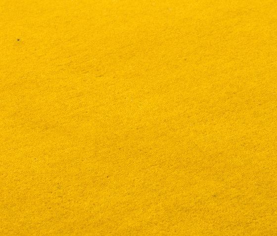 Studio NYC Raw Wool Edition sunflower von kymo | Formatteppiche