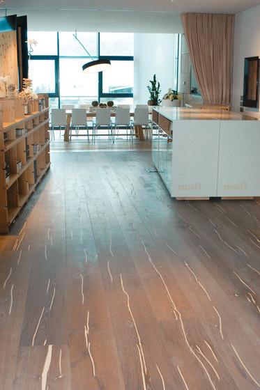 Magic OAK Vulcano white hand-planed | white oil by mafi | Wood flooring