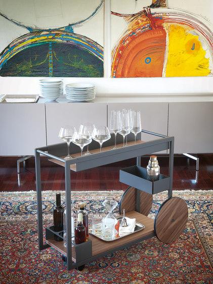 Brandy by Cattelan Italia | Tea-trolleys / Bar-trolleys