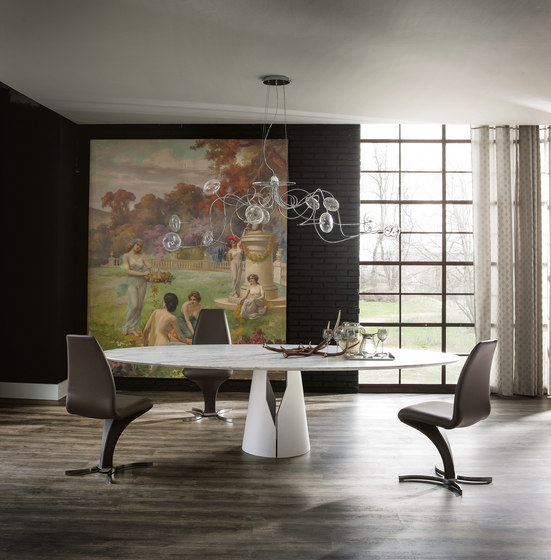 Giano by Cattelan Italia | Dining tables