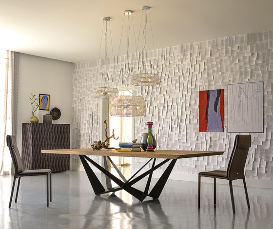 Skorpio Wood by Cattelan Italia | Dining tables