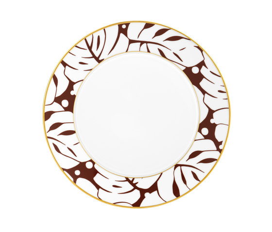AURÉOLE COLORÉE Dinner plate by FÜRSTENBERG | Dinnerware