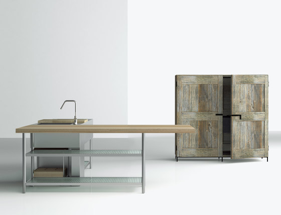Open by Boffi | Island kitchens