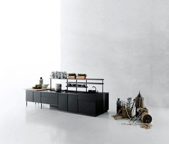 Salinas by Boffi | Island kitchens
