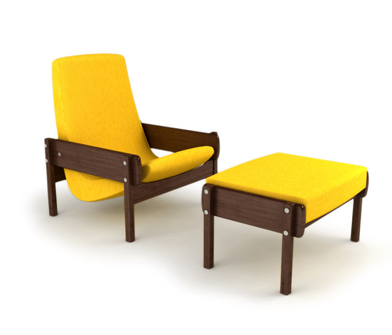 Vronka Armchair with Ottoman by Espasso | Armchairs