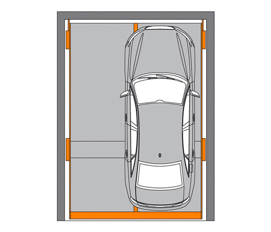 Barrier-free parking by KLAUS Multiparking | Parking systems