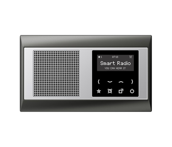 Smart Radio A plus by JUNG | Sound / Multimedia controls