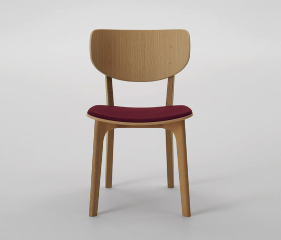Roundish Chair (cushioned seat) de MARUNI | Sillas