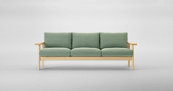 Bruno Three Seater Sofa de MARUNI | Canapés