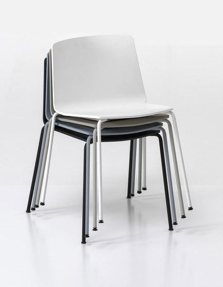 Rama Four Legs Outdoor by Kristalia | Garden chairs