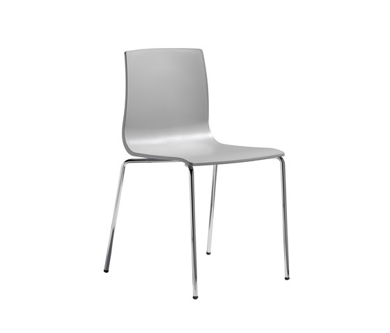 Alice with 4-leg frame by Scab Design | Multipurpose chairs