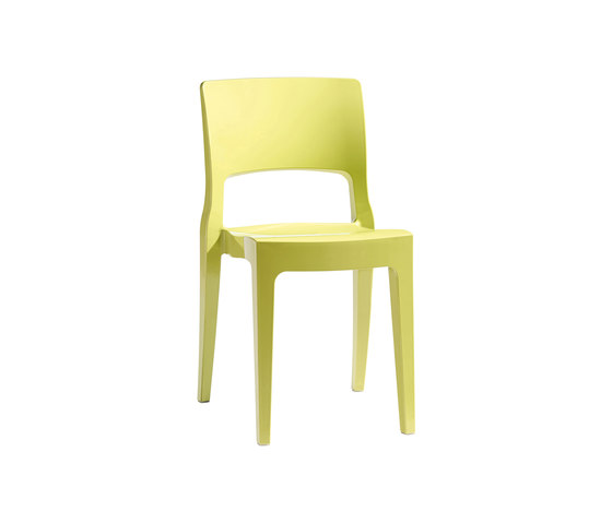 Isy Tecnopolimero chair by Scab Design | Multipurpose chairs