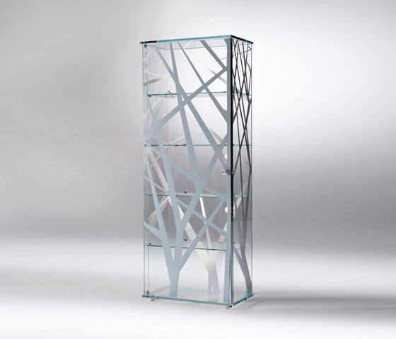 Onis Rectangular by Reflex | Display cabinets