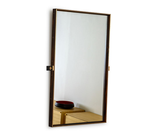 Starling Mirror with pivot by Khouri Guzman Bunce Lininger | Mirrors