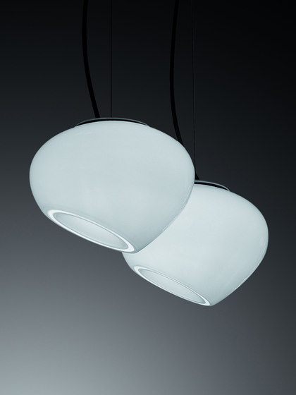 Curling Small suspension by A.V. Mazzega | Suspended lights