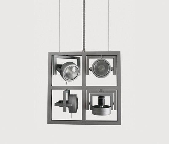 Diapason Kwadro Vertical by Kreon | Spotlights