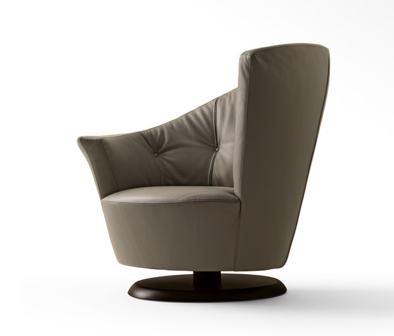 Arabella Swivel Armchair by Giorgetti | Armchairs