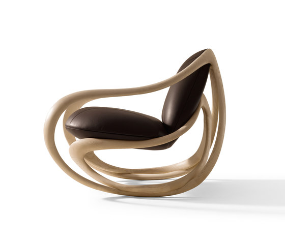 Move Rocking Armchair von Giorgetti | Loungesessel