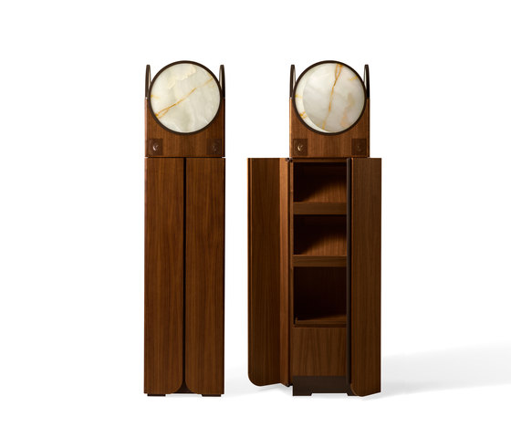 Clair de Lune Cabinet by Giorgetti | Multimedia sideboards