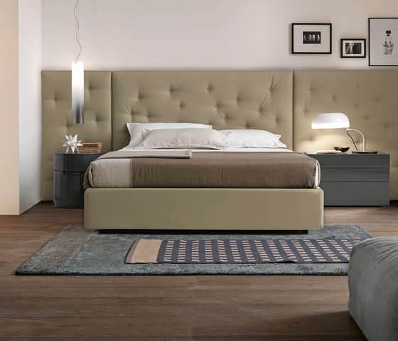 Wing System_tall_4 Bed by Presotto | Double beds