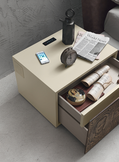 Complementi Notte I-night system by Presotto | Night stands