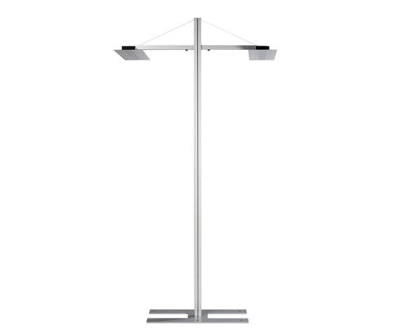 Tavona Tandem floor lamp di WINI Büromöbel | Lampade postazione di lavoro