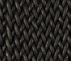 Grit | matt black by Naturtex | Rugs