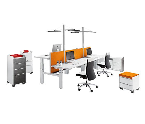 Winea Pro by WINI Büromöbel | Desking systems