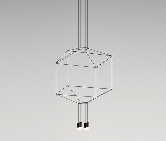 Wireflow 0309 Pendant lamp by Vibia | Suspended lights