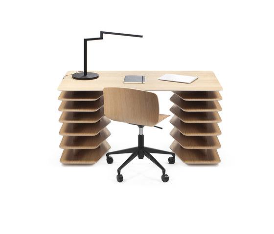 Strates Desk de OBJEKTEN | Bureaux