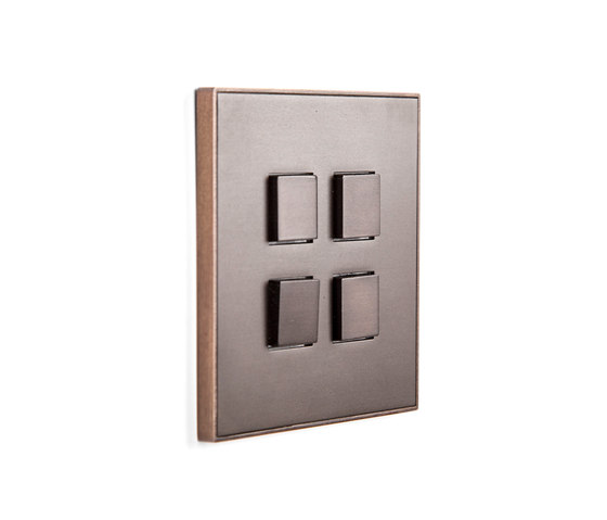 Classics by Lithoss | Select SB4T bronze by Lithoss | Push-button switches