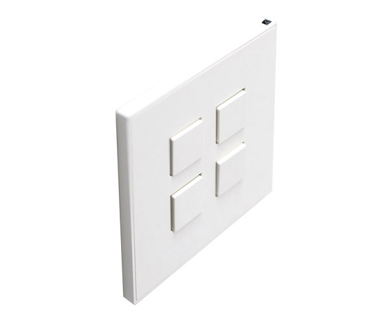 Classics by Lithoss   Select SB4T KNX RAL9010 by Lithoss   Push-button switches
