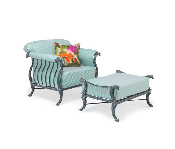 Luxor Lounge Chair & Ottoman by Oxley's Furniture | Armchairs