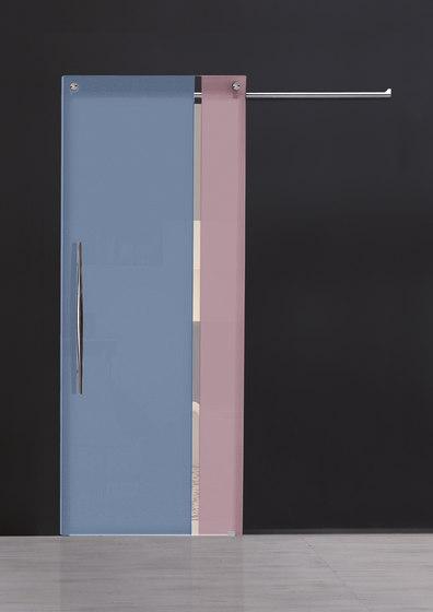 Sliding Door⎟Vertical Bi-color by Casali | Internal doors