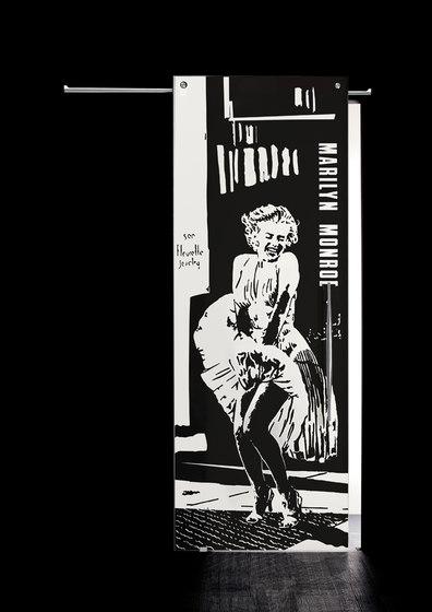Sliding Door⎟Marilyn Monroe, full body by Casali | Internal doors