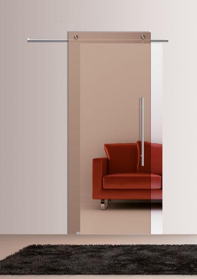 Sliding Door⎟Transparent Bronze by Casali | Internal doors