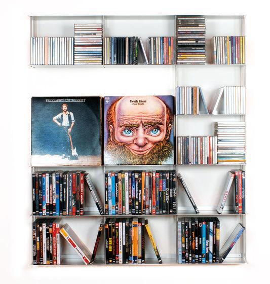Krossing CDs and DVDs holder de Kriptonite | Estantería