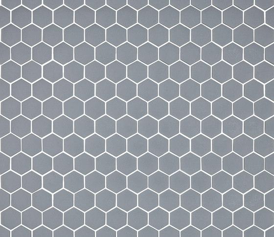 Stone - 570 hexagonal by Hisbalit   Glass mosaics