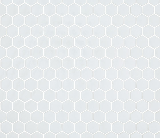 Unicolor - 103 hexagonal by Hisbalit | Glass mosaics