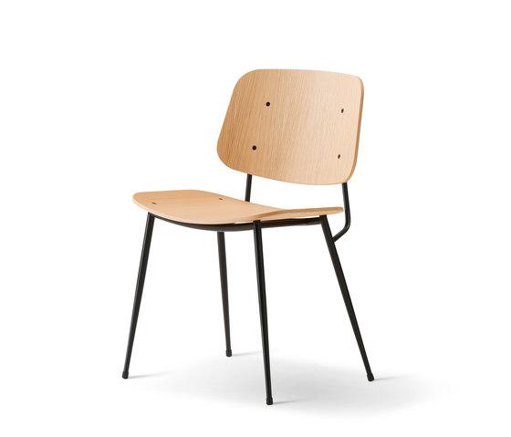 Søborg Steel Base di Fredericia Furniture | Sedie