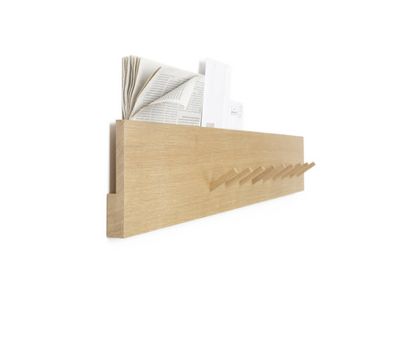 Coat rack and mail holder by Bautier | Hook rails