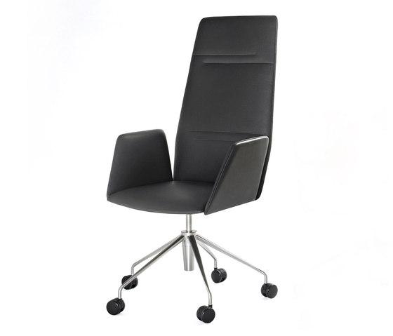 Vela Executive high-backrest chair von Tecno | Stühle