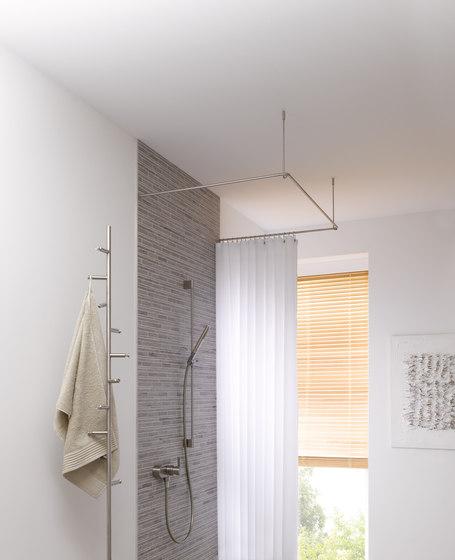 Duschvorhangstange ds u 900 900 bastone per tenda doccia for Bastone reggitenda per doccia