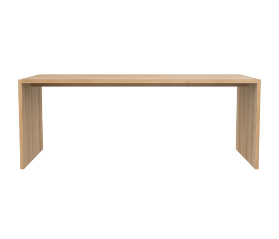 oak office u table dining tables from ethnicraft