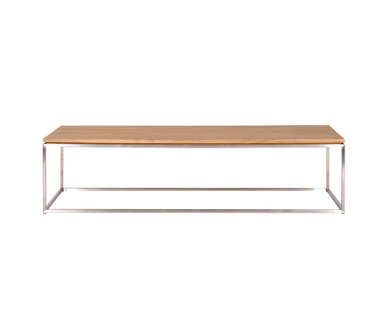 Oak thin by ethnicraft side table coffee table product for Thin side table