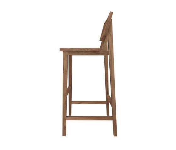 Teak N4 High Chair Barhocker Von Ethnicraft Architonic