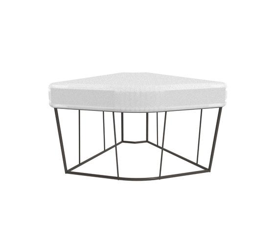 Hervé tavolo/ angolare di Driade | Pouf